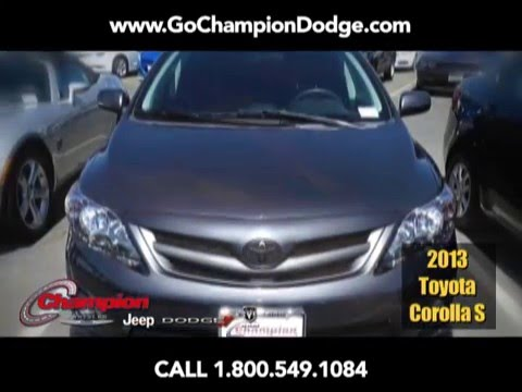 USED 2013 Toyota Corolla for Sale - Los Angeles, Cerritos, Downey, Costa Mesa CA - PREOWNED - Special Deal