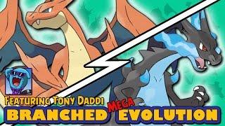 Mega Charizard X vs Mega Charizard Y | Pokémon Branched Mega Evolution (ft Tony Daddi) by Ace Trainer Liam