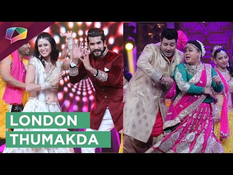 Bharti Singh, Kishwer Merchant and Suyyash Rai dan