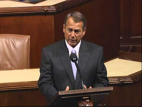 John Boehner - In a one-minute floor speech today, House Speaker John Boehner (R-OH) said the House of Representatives continues to focus on jobs and economic growth as wel...