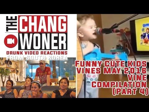 Funny Cute Kids Vines May 2016 l Vine Compilation (Part 4) Drunk Reactions