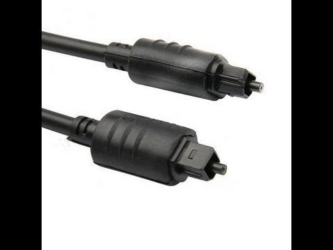 how to attach optical cable