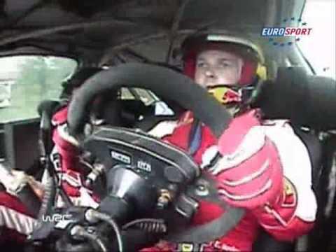 Novikov Ford WRC Mega Jump Finland Rally