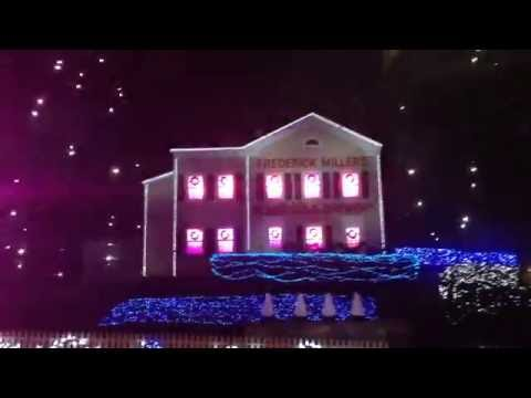Miller Brewery Christmas Lite Holiday Tour, 2015