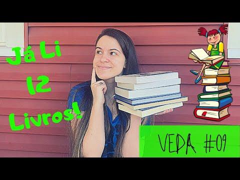 LIVROS QUE EU LI ATE O MOMENTO | #VEDA09 | EDUDA