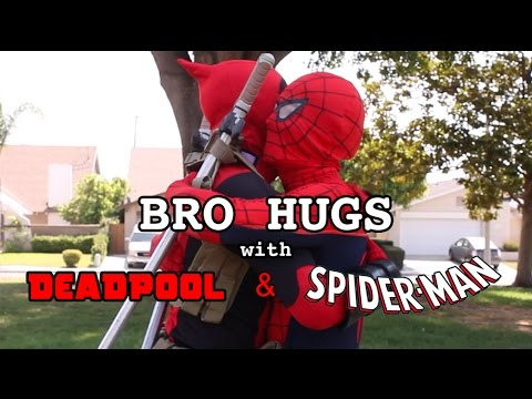 16 Different Types of Bro Hugs with Deadpool and