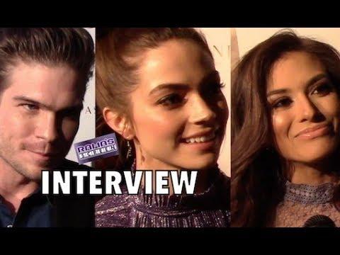 Interviews | Tyler Johnson, Caitlin Carver & Justene Alpert at 'THE MATCHMAKER'S PLAYBOOK' Premiere