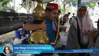 Aneka Hidangan Asli Turki di Taman Sari Banda Aceh