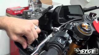 5. How to remove stock bodywork on a 15-17 Yamaha YZF-R1 from SportbikeTrackGear.com