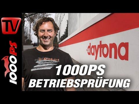 1000PS Betriebsprüfung - Warum Daytona-Motorradstiefel Leben retten!
