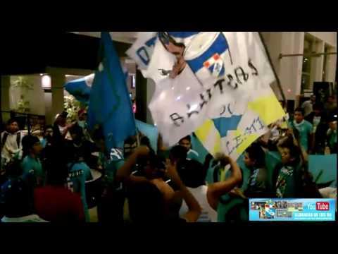 Sporting Cristal: Hinchada 'Celeste' en el Hotel Casa Andina de Piura. - Extremo Celeste - Sporting Cristal