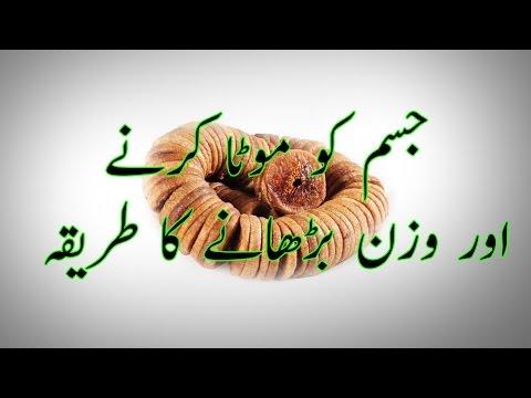 Video How To Gain Weight  Jism Ko Mota Karne Aur Wazan Barhanay Ke Tarike in Urdu download in MP3, 3GP, MP4, WEBM, AVI, FLV January 2017