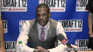 Dion Waiters 2012 NBA Draft Media Day
