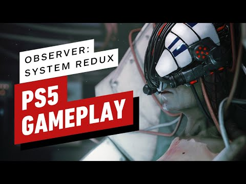 Observer: System Redux PS5 Gameplay