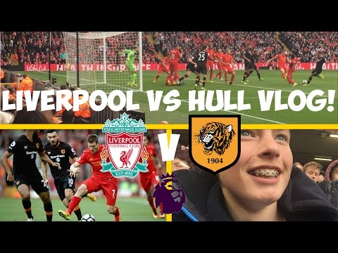 AMAZING DAY!!! - LIVERPOOL VS HULL VLOG