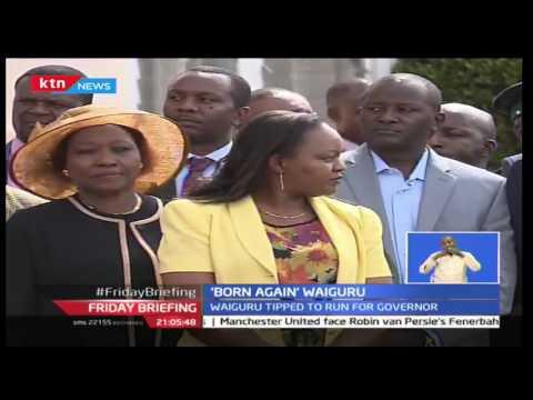 Former CS Anne Waiguru takes a dip as she seeks God's intervention in her gubernatorial race
