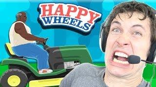 Happy Wheels: FREAKIN LAWNMOWER