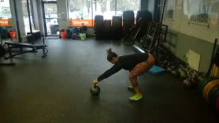 Moves I Love- Drag the Mud Kettlebell Deadlift