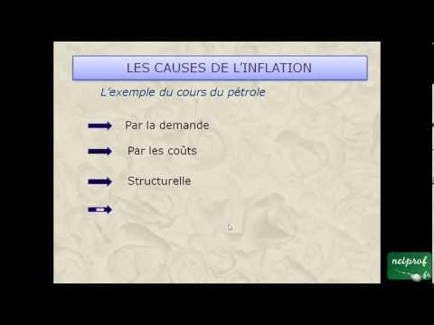 inflation - Cours netprof.fr de Economie Droit / Bac professionnel Prof : Lionel.