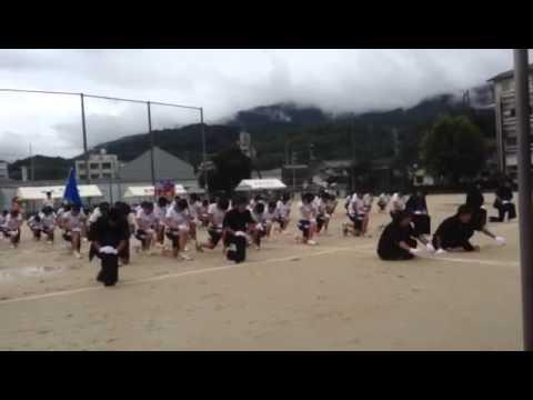 城北中学校体育祭 覇凱龍 応援合戦2