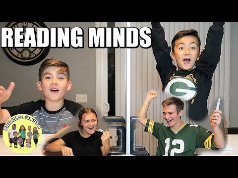 KIDS SURPRISE TELEPATHY TEST RESULTS | CAN THE KIDS READ EACH OTHERS MINDS | THE TWIN TELEPATHY TEST