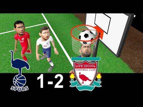 Tottenham Vs Liverpool 1-2 | Parody Goals | highlights | 15/09/2018