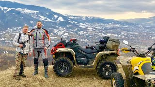 8. Can Am Outlander 1000 XMR 2019 crazy day with a group off friends riders atv motocross off road mud