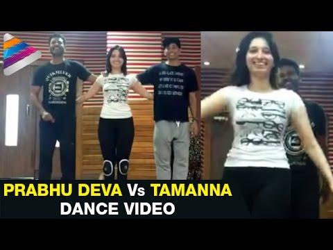 Video Prabhu Deva vs Tamanna Dance Practice | Abhinetri Telugu Movie | Amy Jackson | Sonu Sood download in MP3, 3GP, MP4, WEBM, AVI, FLV January 2017