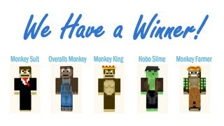 Minecraft Skin Contest FINALE - We Have a Winner!
