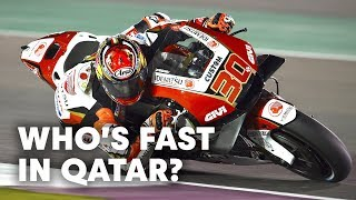 Riders Make The Most Of The Last Testing Session in Qatar | MotoGP 2019