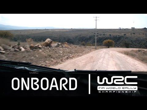 Vídeo onboard Robert Kubica WRC Rallye Guanajuato México 2015 SS20