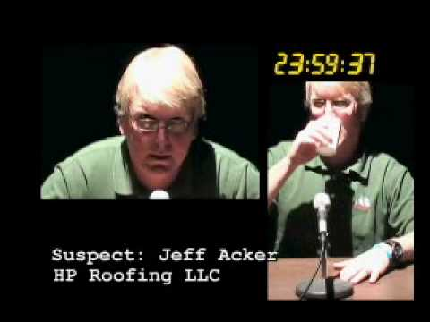 HP Roofing White River Junction VT Interogation Ad