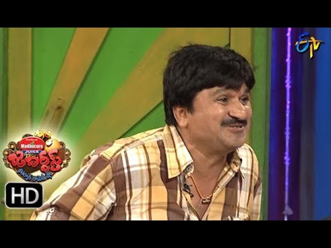 Jabardasth Telugu Comedy Show ,31st august 2017,Racket Ragava performance- ETV Telugu
