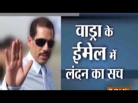 Robert Vadra was in regular touch with arms dealer Sanjay Bhandari: Report