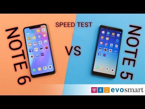 Video SPEEDTEST ANTUTU Xiaomi Redmi Note 5 VS Redmi Note 6 Pro download in MP3, 3GP, MP4, WEBM, AVI, FLV January 2017