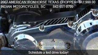 4. 2007 AMERICAN IRONHORSE TEXAS CHOPPER JUDGE for sale in Murr
