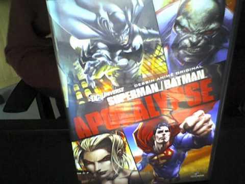 vidéo présentation superman/batman apocalypse