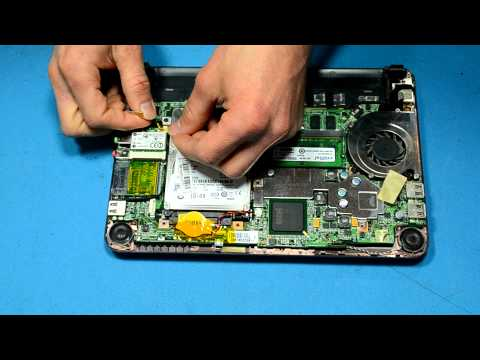Replacing the WiFi Card in an MSI Wind U100 Netbook