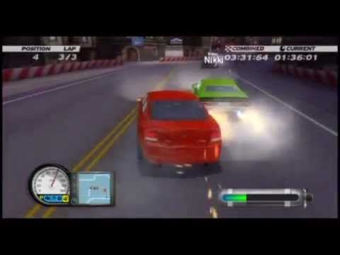 dodge racing charger vs challenger wii review