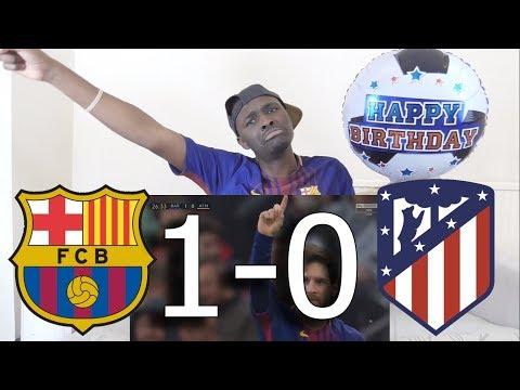 Barcelona Fan React To ● Barcelona vs Atletico Madrid 1-0 All Goals