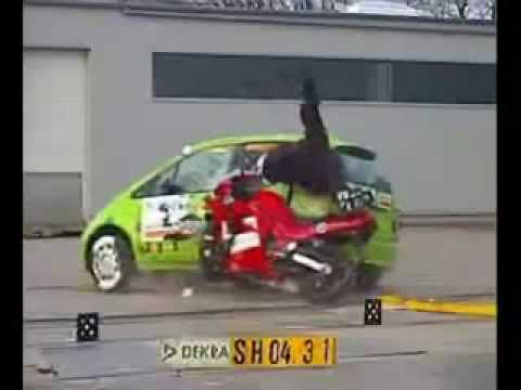 Motorcycle Crash Test