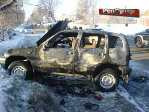 Мужчина, устроивший ДТП с пожаром на Зубчаниновском шоссе, явился в полицию (видео)