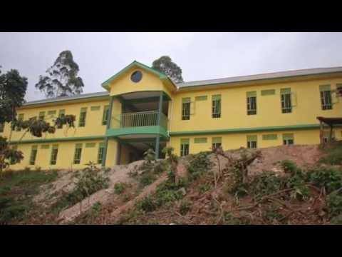 Progression of new Child Africa School in Uganda