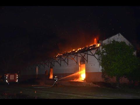 Incêndio atinge prédio de antiga estação ferroviária em Aquidauana