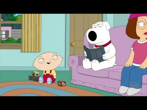 Family Guy - Mr. Griffin is up here & Stewie's jokes