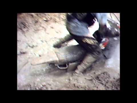 Trilha de moto em Charqueadas - RS