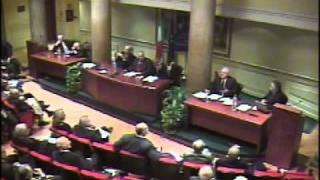 Convegno costi democrazia - Vicepres. Cesare Salvi