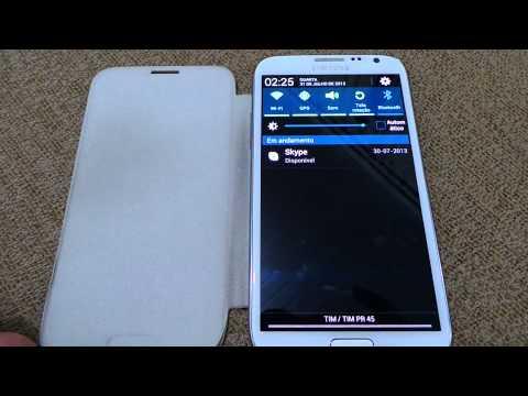 Galaxy Note II – travando e voltando