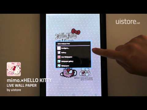 Video of mimo.×HELLO KITTY LWallpaper