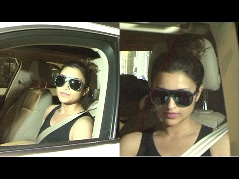 Parineeti Chopra Spotted At International Airport